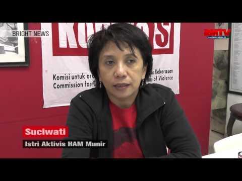 Sebut Presiden Jokowi Pongah, Istri Munir Beri Ultimatum