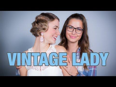 Ein bisschen Vintage? Tatjana bekommt den Gatsby Style