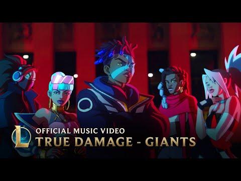 True Damage - GIANTS (ft. Becky G, Keke Palmer, SOYEON, DUCKWRTH, Thutmose) | League of Legends