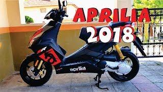 10. NEW APRILIA 2018 sr 50 cc