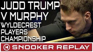 FANTASTIC SNOOKER From Judd Trump Against Shaun Murphy- Wyldecrest Players Championship - Round Two