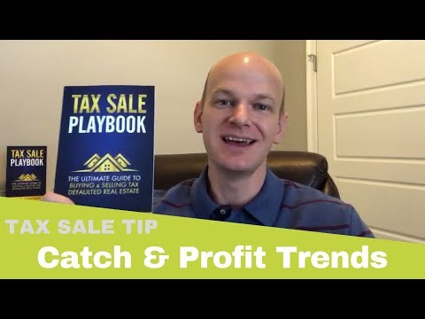 Quick Tip 100: Catch & Profit From Real Estate Trends at Tax Sales