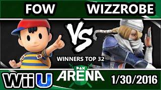 PAX South Arena – GW | Fow (Ness) Vs. CoG | Wizzrobe (Sheik) SSB4 Top 32 – Smash Wii U – Smash 4