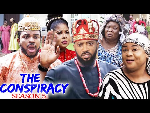 THE CONSPIRACY SEASON 5(Trending New Movie)Fredrick Leonard & Uju Okoli 2021  Nigerian Movie 720p