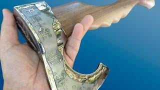 Video Vikings' Antique Hatchet Restoration. It's just charm! MP3, 3GP, MP4, WEBM, AVI, FLV November 2018