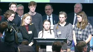 Speech by Greta Thunberg, climate activist