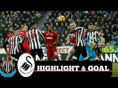 Newcastle vs Swansea 1-1 EPL 13/01/2018 All goals & Highlights