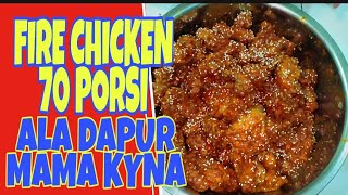 Video CARA MEMBUAT FIRE CHICKEN 80 POTONG//ALA DAPUR MAMA KYNA MP3, 3GP, MP4, WEBM, AVI, FLV Mei 2019