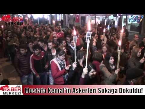 Uşak'ta Mustafa Kemal'in Askerleri Bayramı Böyle Kutladı!