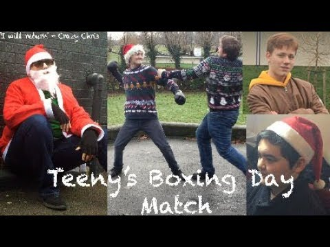 Teeny's Boxing Day Match