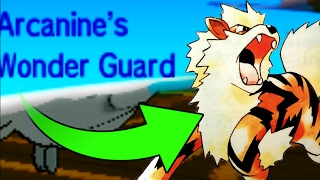 NO WEAKNESS WONDER GUARD?! Unkillable - Typeless - Wonder Guard - Arcanine! by Verlisify
