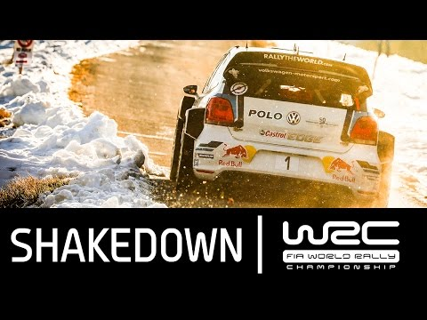 Vídeo resumen shakedown WRC Rallye MonteCarlo 2016