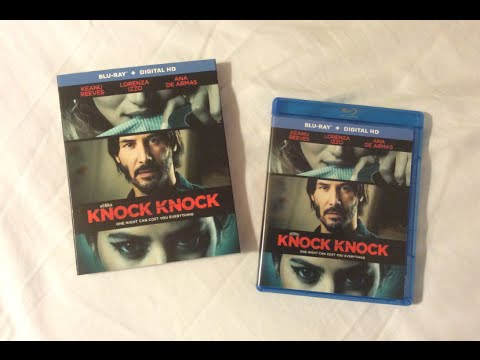 Knock Knock (2015) Blu Ray Review and Unboxing