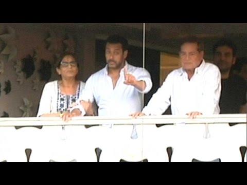 Must Watch: Salman Khan Waves To Fans After Jail S