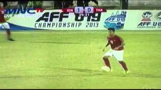Video full 1st round AFF U19 Indonesia vs Thailand (3-1)  16 Sept 2013 and all goals MP3, 3GP, MP4, WEBM, AVI, FLV Desember 2017