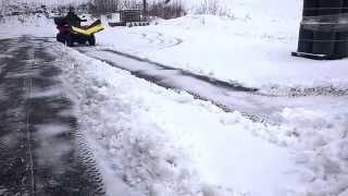 Finman V-Aura lumitöissä, video 2