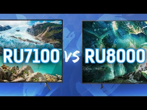 Samsung 2019 TV Comparison: RU8000 Series vs RU7100 Series