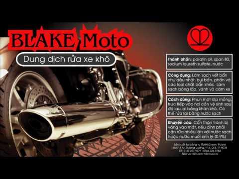Rửa xe khô Blake moto