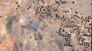 Tabuk Saudi Arabia  city photos : Google Timelapse: Tabuk, Saudi Arabia