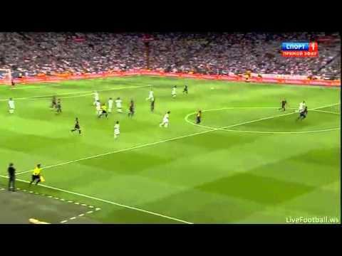 cristiano ronaldo goal incredibile contro il barcellona 29/8/2012