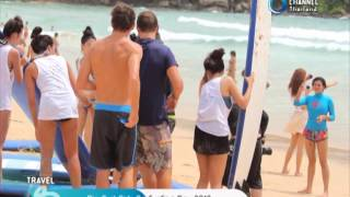 Rip Curl Girls Go Surfing Day 2013 By Travel Channel Thailand