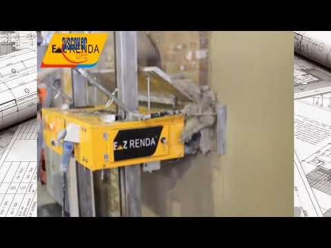 Sẽ có nhiều thợ xây thất nghiệp vì cái máy trát tường này - Máy xây dựng