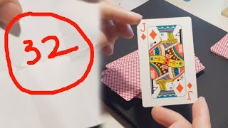 In this video, i'm going to teach you an awesome magic card trick with number 32 . Hope you enjoy!!!- Subscribe our channel here: https://goo.gl/jA2ViV- Other Magic Tricks: https://goo.gl/AwMyMr- Fanpage: https://goo.gl/zR6dcd
