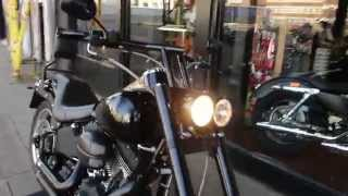 9. 2007 HARLEY-DAVIDSON SOFTAIL NIGHT TRAIN FXSTB @ West Coast Harley-Davidson, Glasgow, Scotland