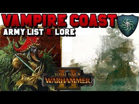 Vampire Coast Army List & Lore (Zombie Pirates, Luthor Harkon) | Total War: Warhammer 2