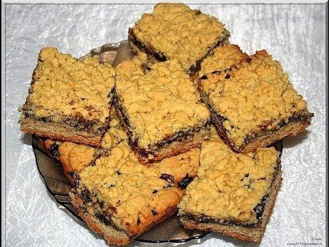 печенье с вареньем и посыпанное сверху крошкой рецепт с фото