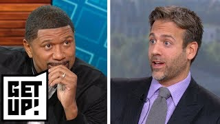 Jalen reacts to Max saying Kevin Durant won't be a top 5 player in NBA next year | Get Up! | ESPN