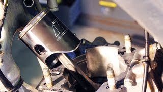 7. How to change piston / top end rebuild 2002-2007 Honda Cr 250