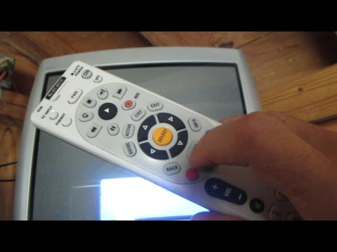 Programming a remote for a DVD player