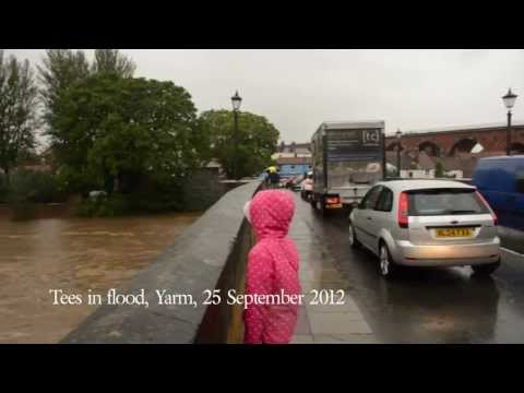 Yarm Floods 25 September 2012.mov