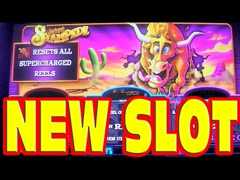 Jackpot Stampede – NEW SLOT MACHINE – Bonus + Live Play Win