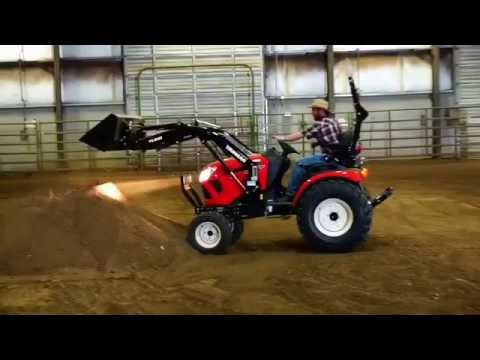 Yanmar Tractor Test Drive