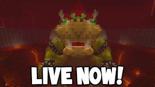 LIVE! - Minecraft - Super Mario MASH-UP World!