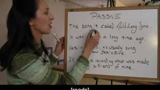 Stative Passive, English Grammar Lesson 30