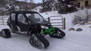 8. Arctic Cat Wildcat Turbo Camoplast Tracks Short Field Test Evolution PowerSports