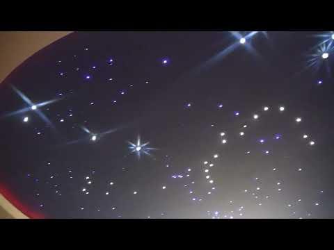 Oświetlenie LED salonu z kuchnią