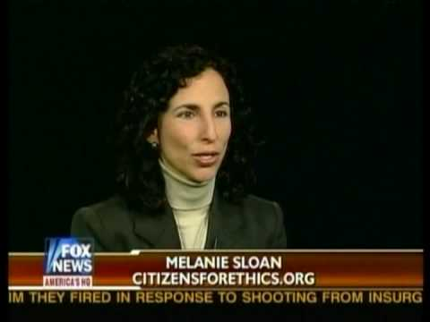 Melanie Sloan Discusses Chairman Rangel's Ethics Problems