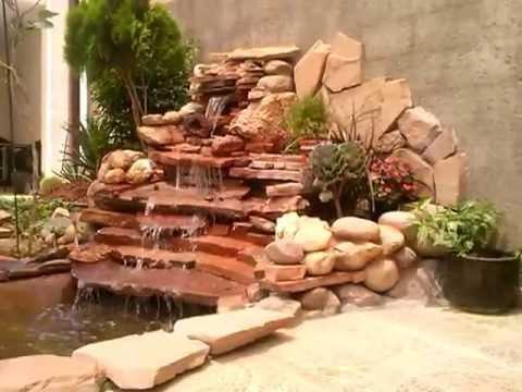 Jardines y cascadas videos videos relacionados con for Cascadas artificiales para jardin