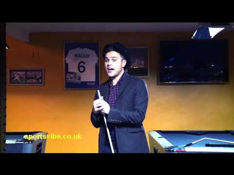 Olly Murs Playing Pool & Talking Music