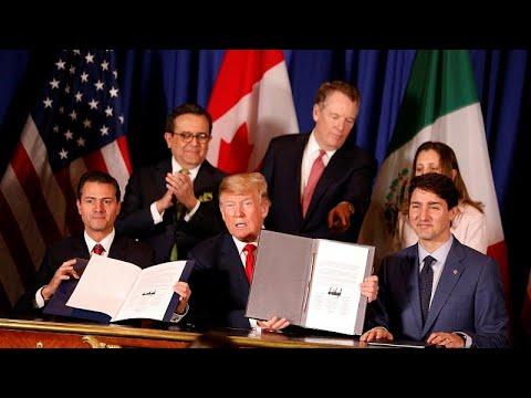 ΗΠΑ, Μεξικό και Καναδάς υπέγραψαν τη συνθήκη ελεύθερου εμπορίου…