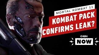 Mortal Kombat 11 DLC Basically Confirms Datamine Leak - IGN Now by IGN