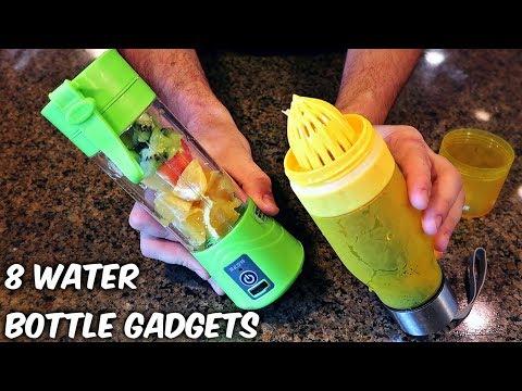 8 Water Bottle Gadgets from GearBest