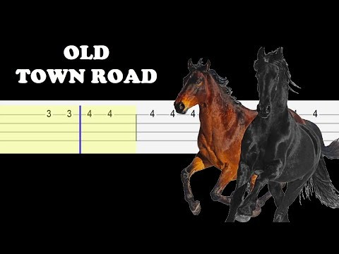 Lil Nas X ft. Billy Ray Cyrus - Old Town Road (SLOW EASY UKULELE TABS TUTORIAL)