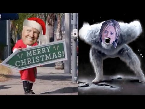 """Hilarious Trump Christmas Parody """"It's The Most Wonderful Time in 8 Years"""" - Dana Kamide"""