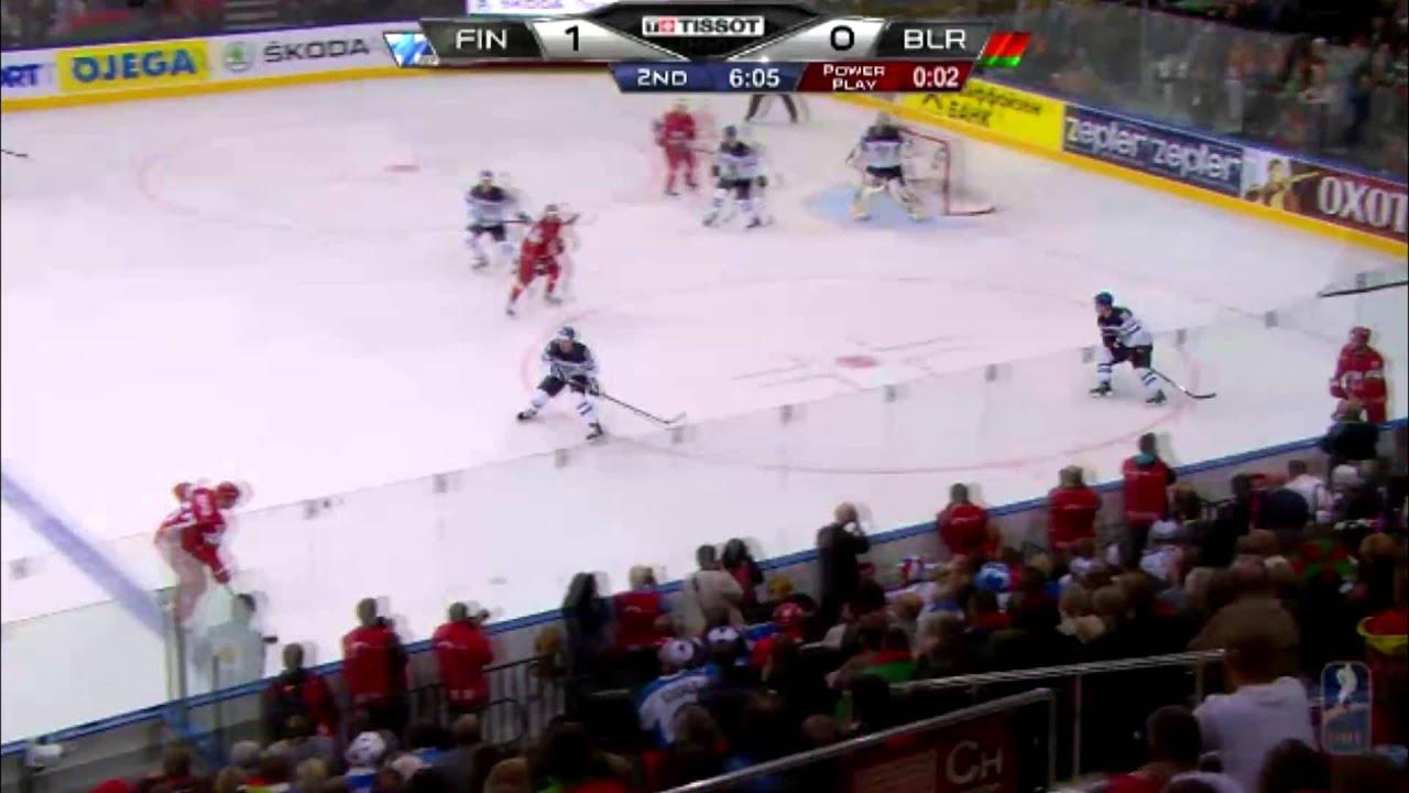 Finland vs Belarus IIHF 2014 (World Championship) highlights