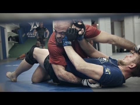 Alexander Gustafsson och Ilir Latifi inför UFC i London